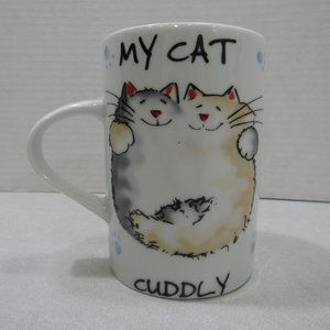 Contented Pets My Cat Cuddly Coffee Tea Cup Mug